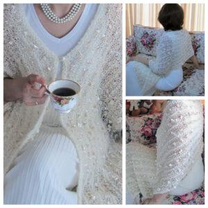 Ecru shawl